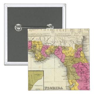 Florida 4 15 cm square badge