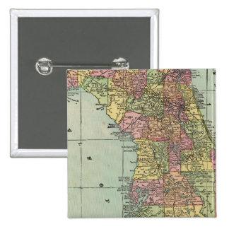 Florida 5 15 cm square badge