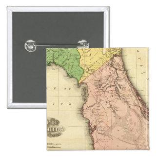 Florida 6 15 cm square badge