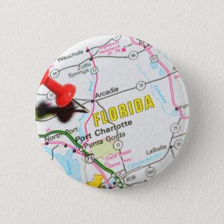 Florida 6 Cm Round Badge