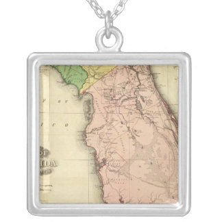 Florida 6 silver plated necklace