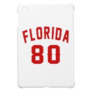 Florida 80 Birthday Designs iPad Mini Cover