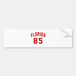Florida 85 Birthday Designs Bumper Sticker