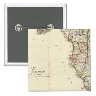 Florida 8 15 cm square badge