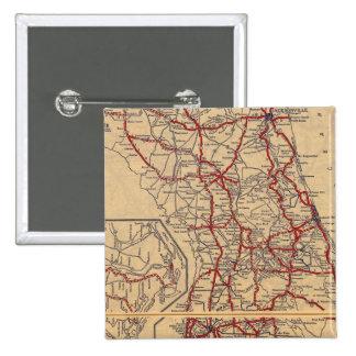 Florida 9 15 cm square badge