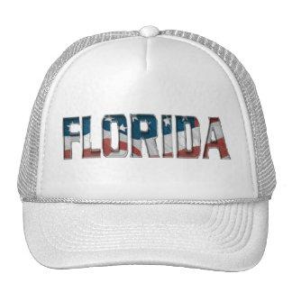 Florida american Flag Hat
