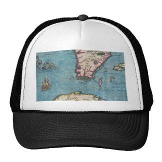Florida and Cuba Mesh Hats