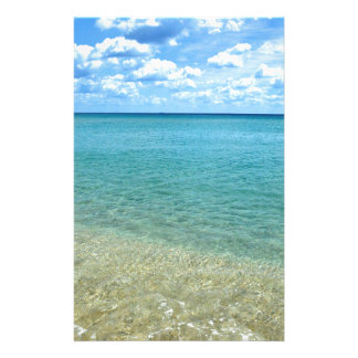 Florida Beach Customized Stationery