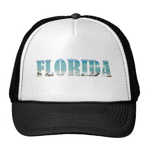 Florida Beach Mesh Hats