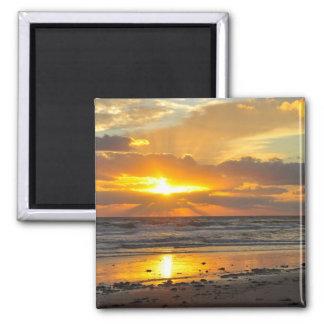 Florida Beach Scenic Sunrise Magnet