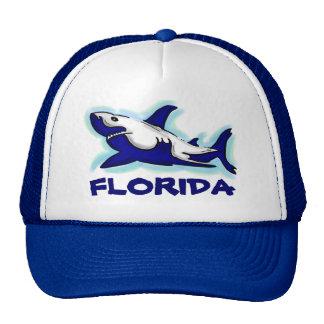 Florida blue shark theme souvenir hat