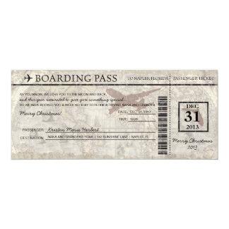 Florida Boarding Pass Card