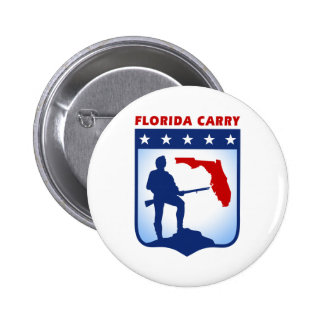 Florida Carry Gear 6 Cm Round Badge