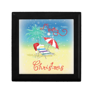 Florida-Christmas Holiday-Whimsical Gift Box
