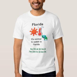 Florida Christmas Tshirts