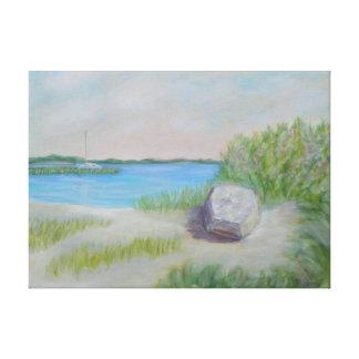 FLORIDA COASTAL LIVING Wrapped Canvas Print