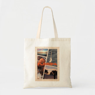Florida Collage Tote