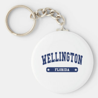 Florida College Style tee shirts Key Ring