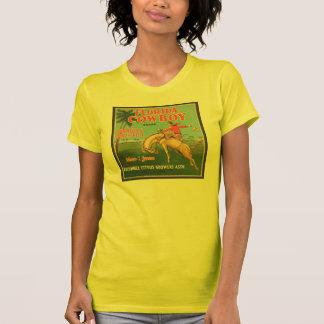 Florida Cowboy Kissimmee Citrus Growers Vintage Cr T-shirt
