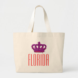 Florida Crown Jumbo Tote Tote Bags