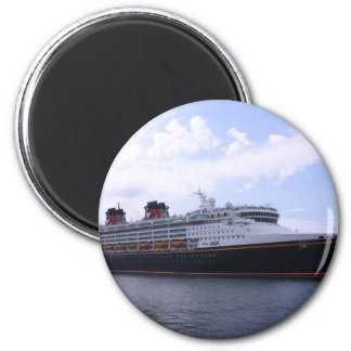 Florida Cruise 6 Cm Round Magnet