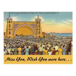 Florida, Daytona Beach Postcard