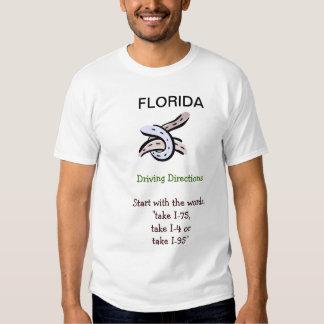 Florida Directions Tshirt