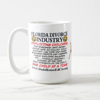 Florida Divorce Industry. Basic White Mug