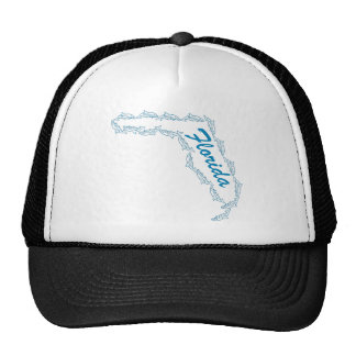 Florida Dolphin Design by U S Custom Ink Trucker Hats
