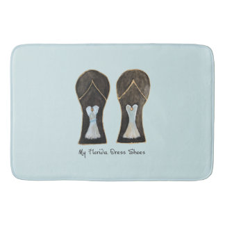 Florida Dress Shoes Bath Mat