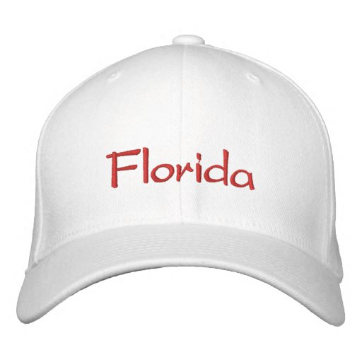 Florida Embroidered Hats