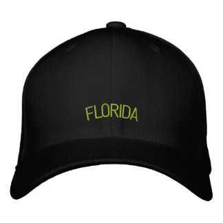 Florida Embroidered Hat
