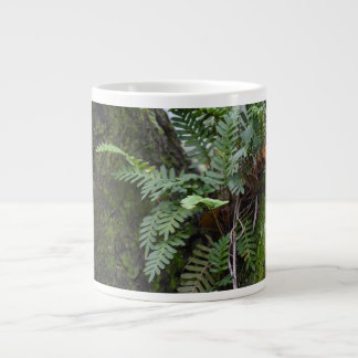 florida ferns and moss  oak tree nature landscape large coffee mug