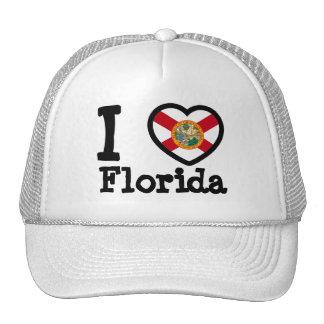 Florida Flag Mesh Hats