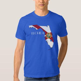 Florida Flag-Map Shirt