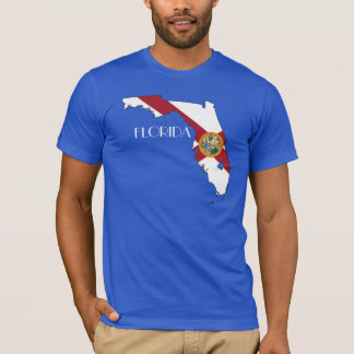 Florida Flag-Map Shirt