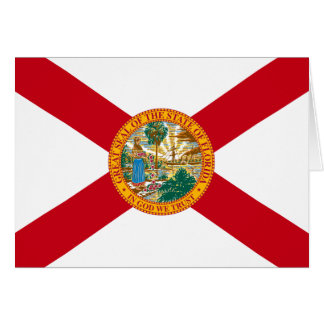 Florida Flag Note Card