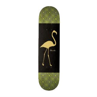 Florida Flamingo Competition Shaped Board 18.1 Cm Old School Skateboard Deck