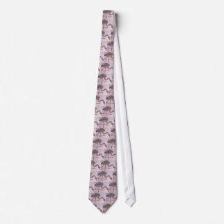 Florida Flamingo Tie
