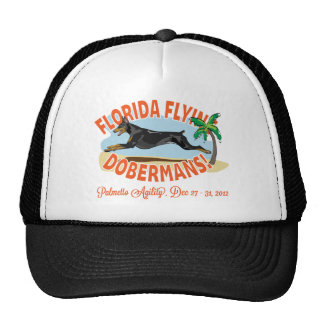 Florida Flying Dobermans Black Cap