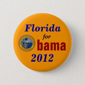 Florida for Obama 2012 6 Cm Round Badge