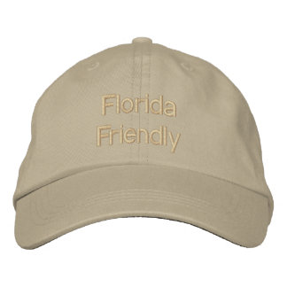 Florida Friendly Embroidered Hat