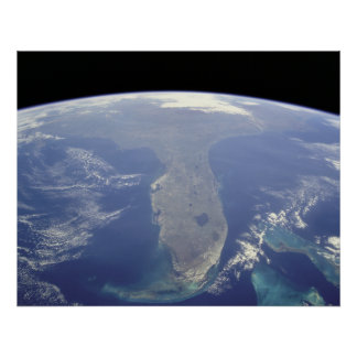 Florida from Space Poster