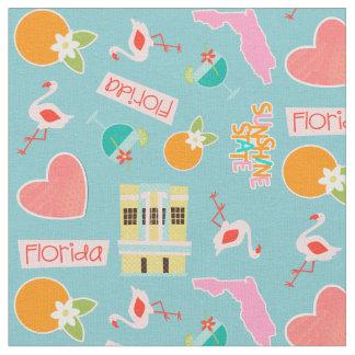 Florida Fun Pattern Fabric