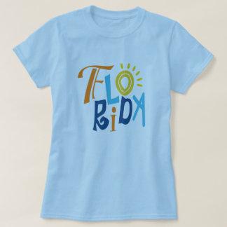 Florida fun typographic design T-Shirt