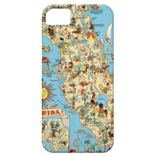 Florida Funny Vintage Map iPhone 5 Covers