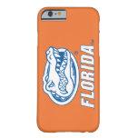 Florida Gator Head - Blue & White iPhone 6 Case