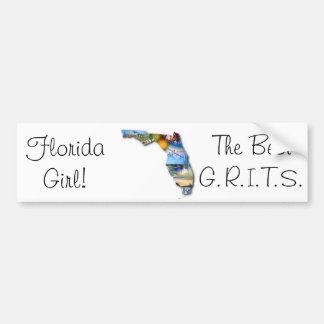 florida girl bumper sticker