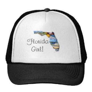 florida girl mesh hat