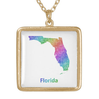 Florida Gold Plated Necklace